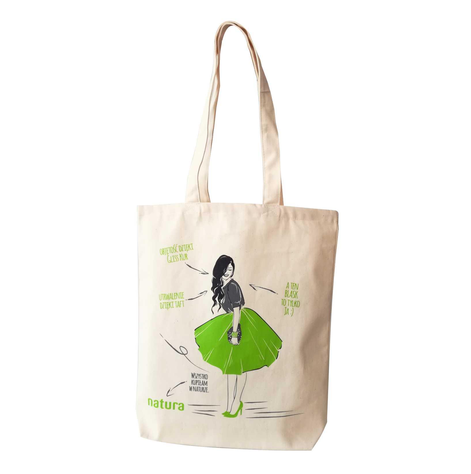 Torby bawełniane, ekologiczne z nadrukiem dla firm ⋆ Gift More