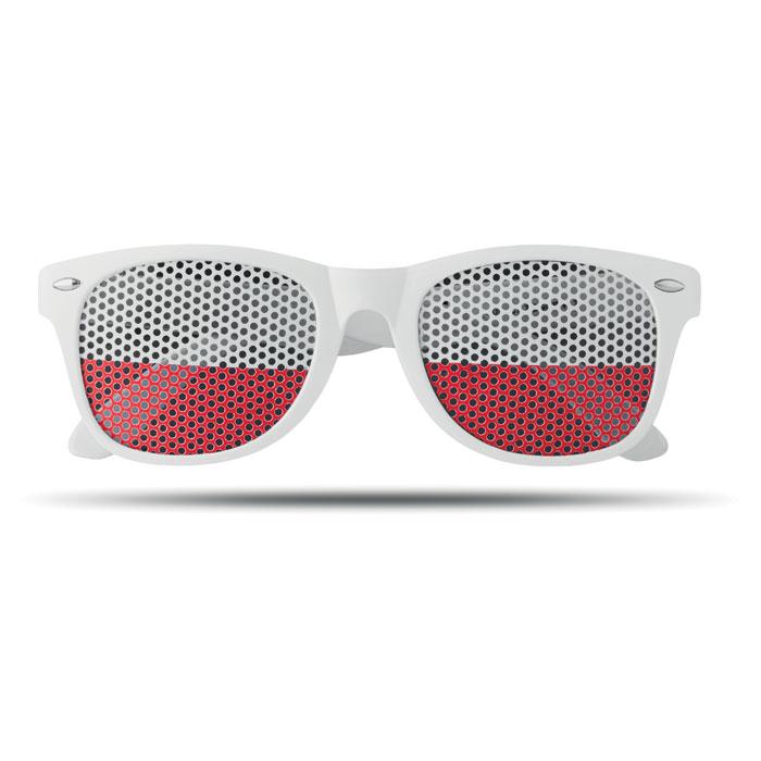 Okulary w kolorze flagi