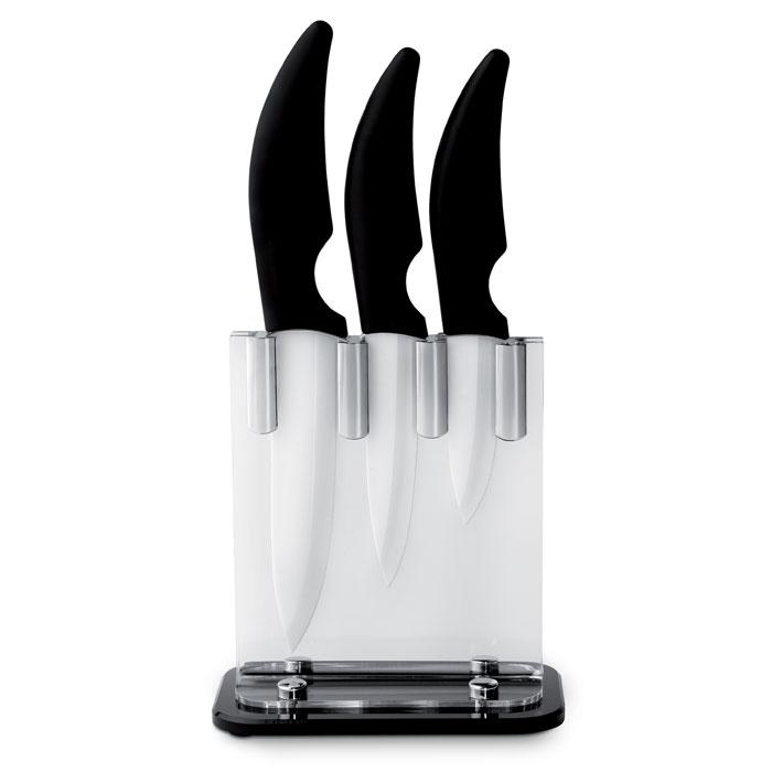 Zestaw 3 ceramicznych noży kuchennych