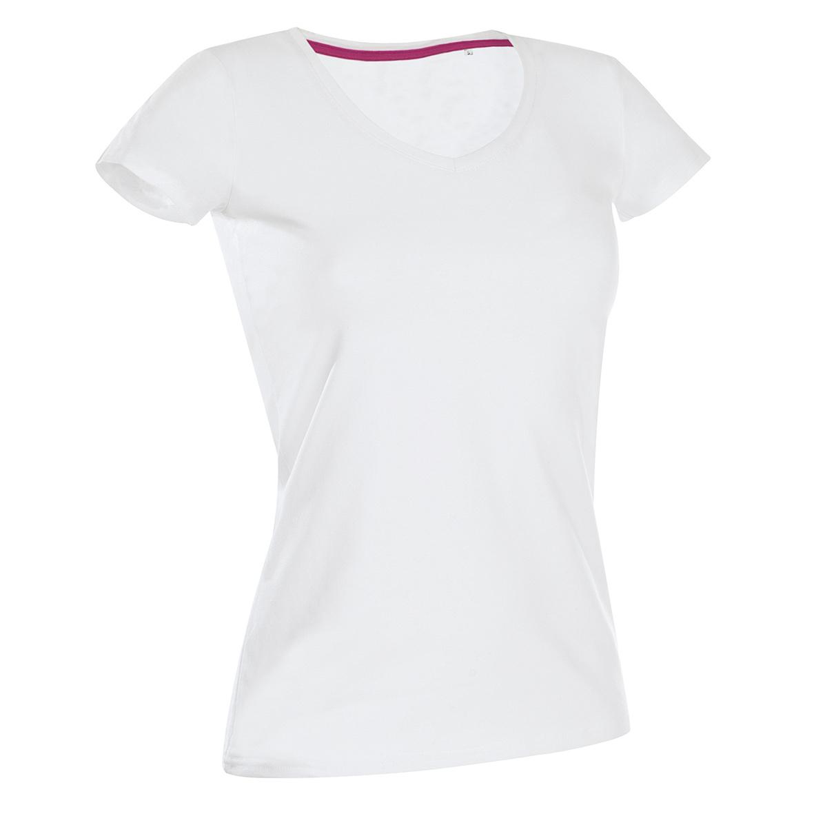 Koszulka, T-shirt STEDMAN Stars Claire V-neck damski