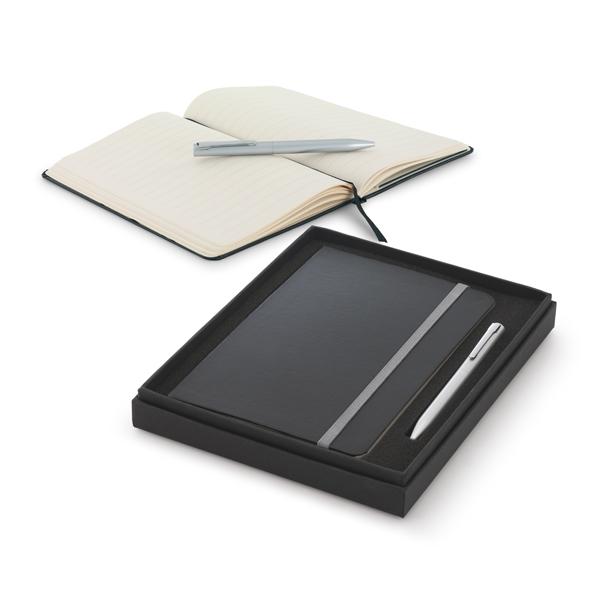 Zestaw - notes plus długopis