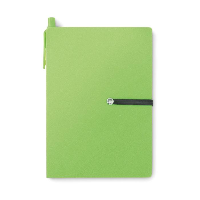 Ekologiczny notes z recyklingu