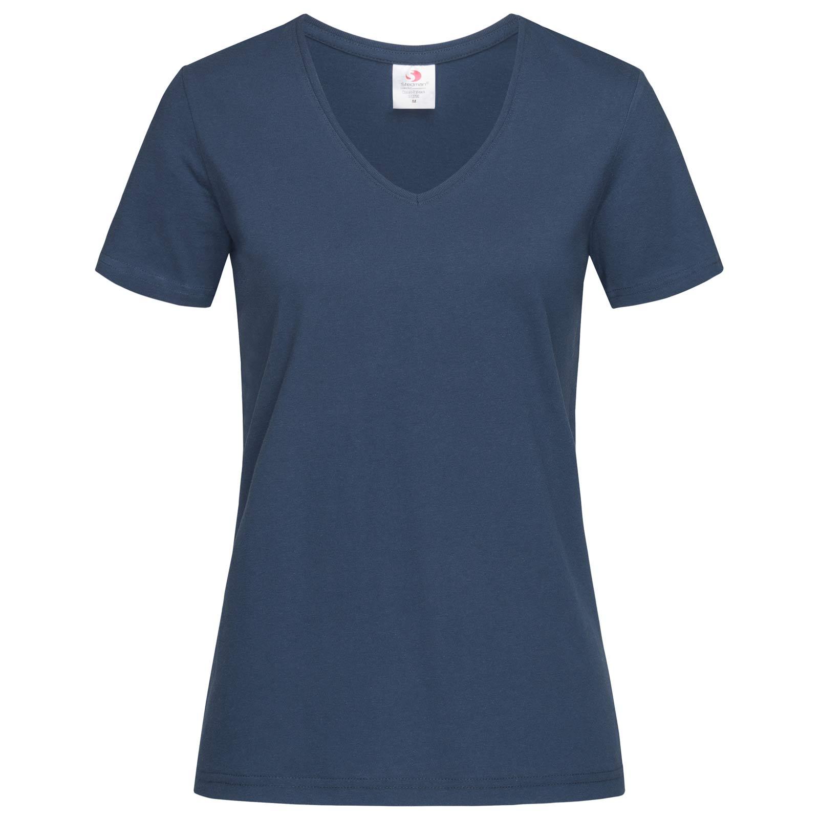 Koszulka, T-shirt STEDMAN Classic V-neck damski