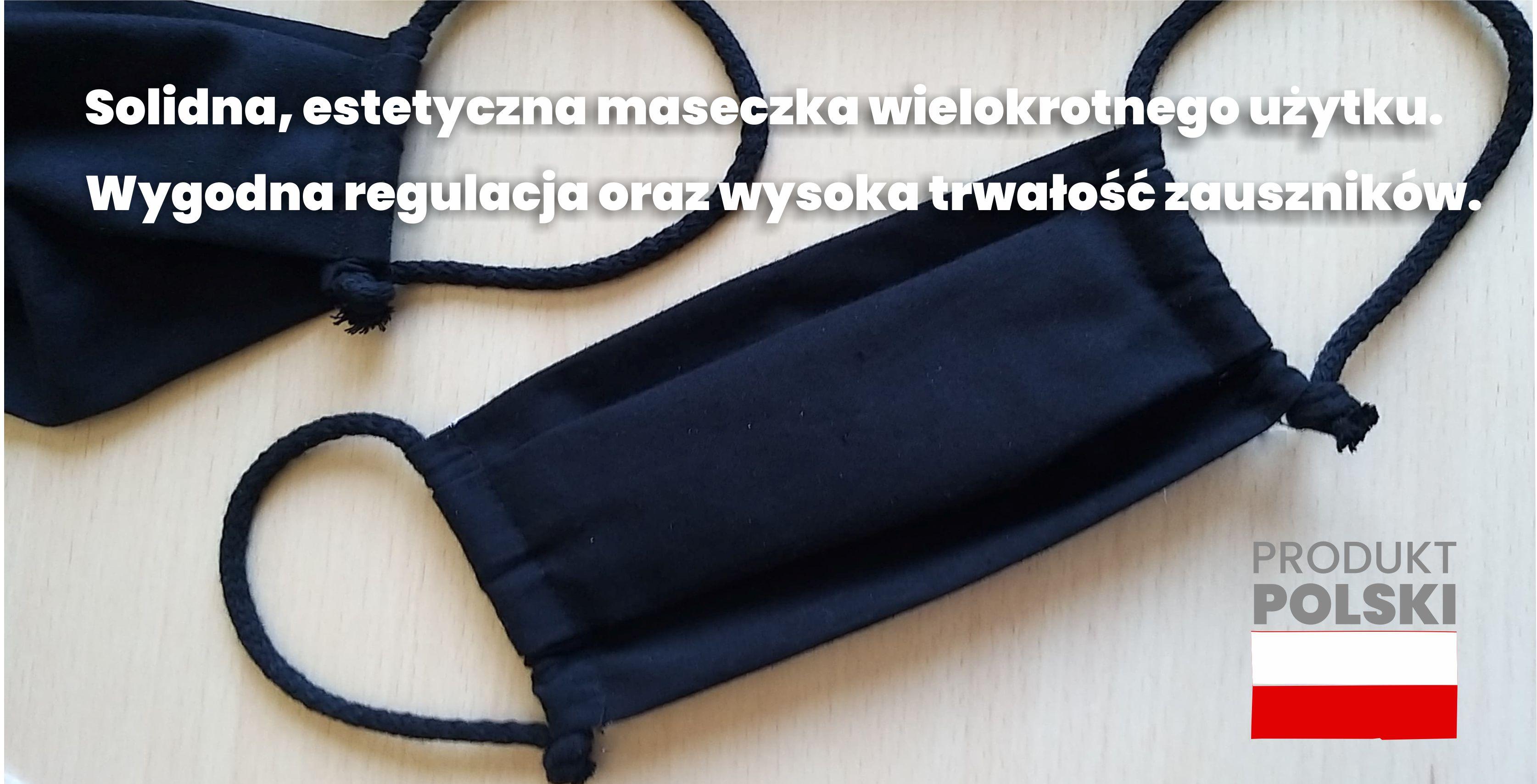 Maseczka, maseczki bawełniane wielokrotnego użytku