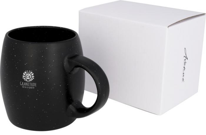 Kubek ceramiczno-kamienny