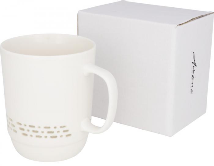 10053800 Przezroczysty kubek ceramiczny