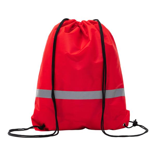 Plecak promocyjny z taśmą odblaskową